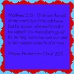 Matthew 5 13