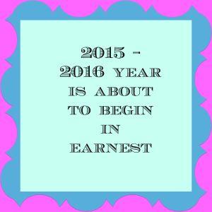 2015 2016 school year begins