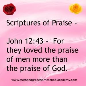 praise-john-12-43