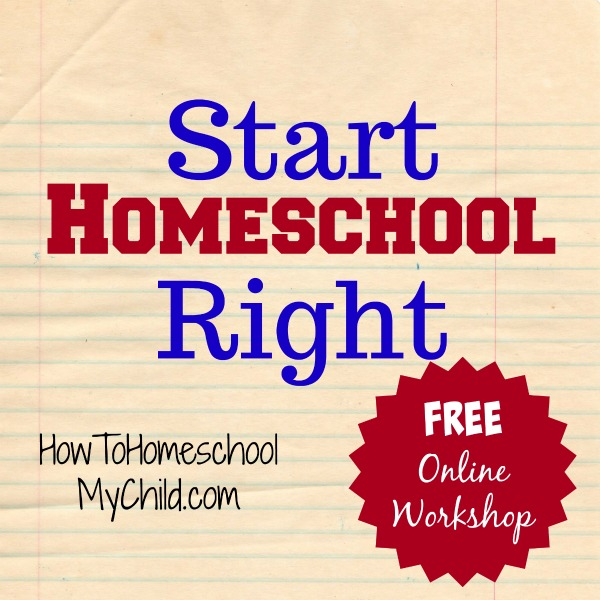 start-homeschool-right