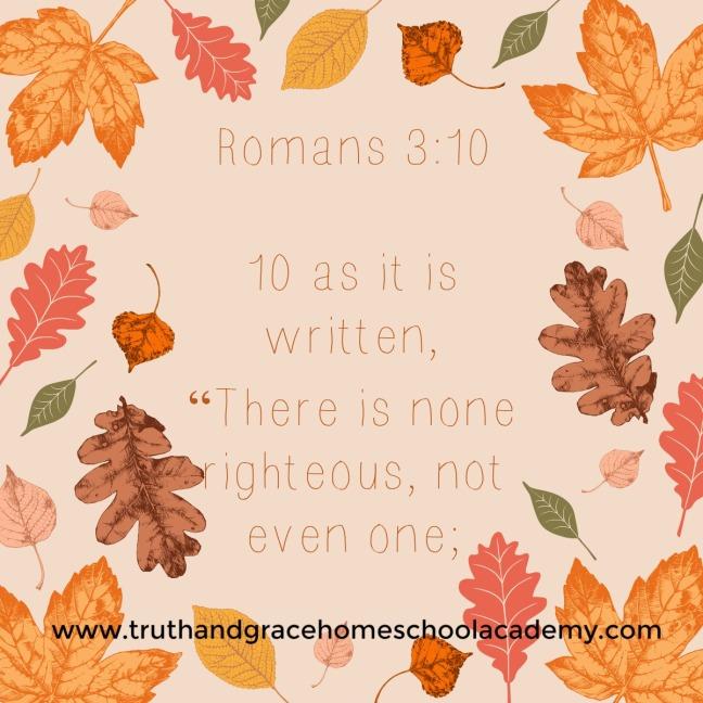 Romans 3 10