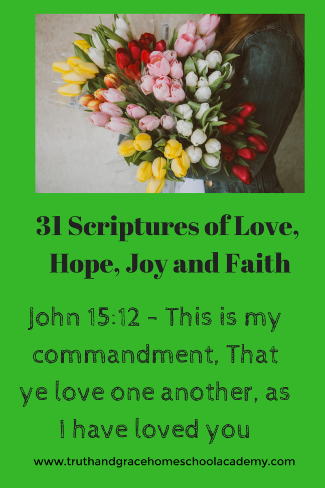 31 Scriptures of Love, Joy(1)