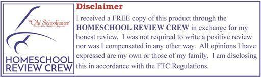 Home School Review Crew Disclaimer