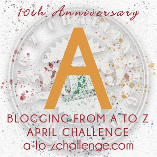 #AtoZChallenge 2019 Tenth Anniversary blogging from A to Z challenge letter A