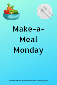 Make-a-Meal Monday