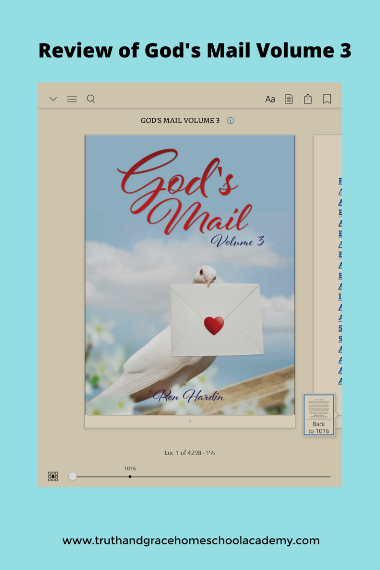 Review of God's Mail Volume 3