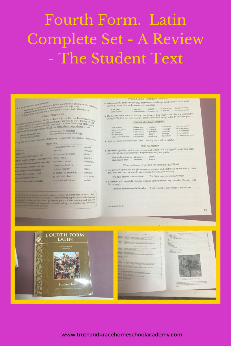 Fourth Form. Latin Complete Set - A Review