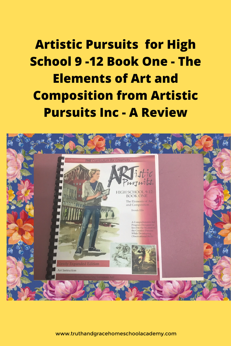 ARTistic Pursuits High School 9 -12 Book One - The Elements