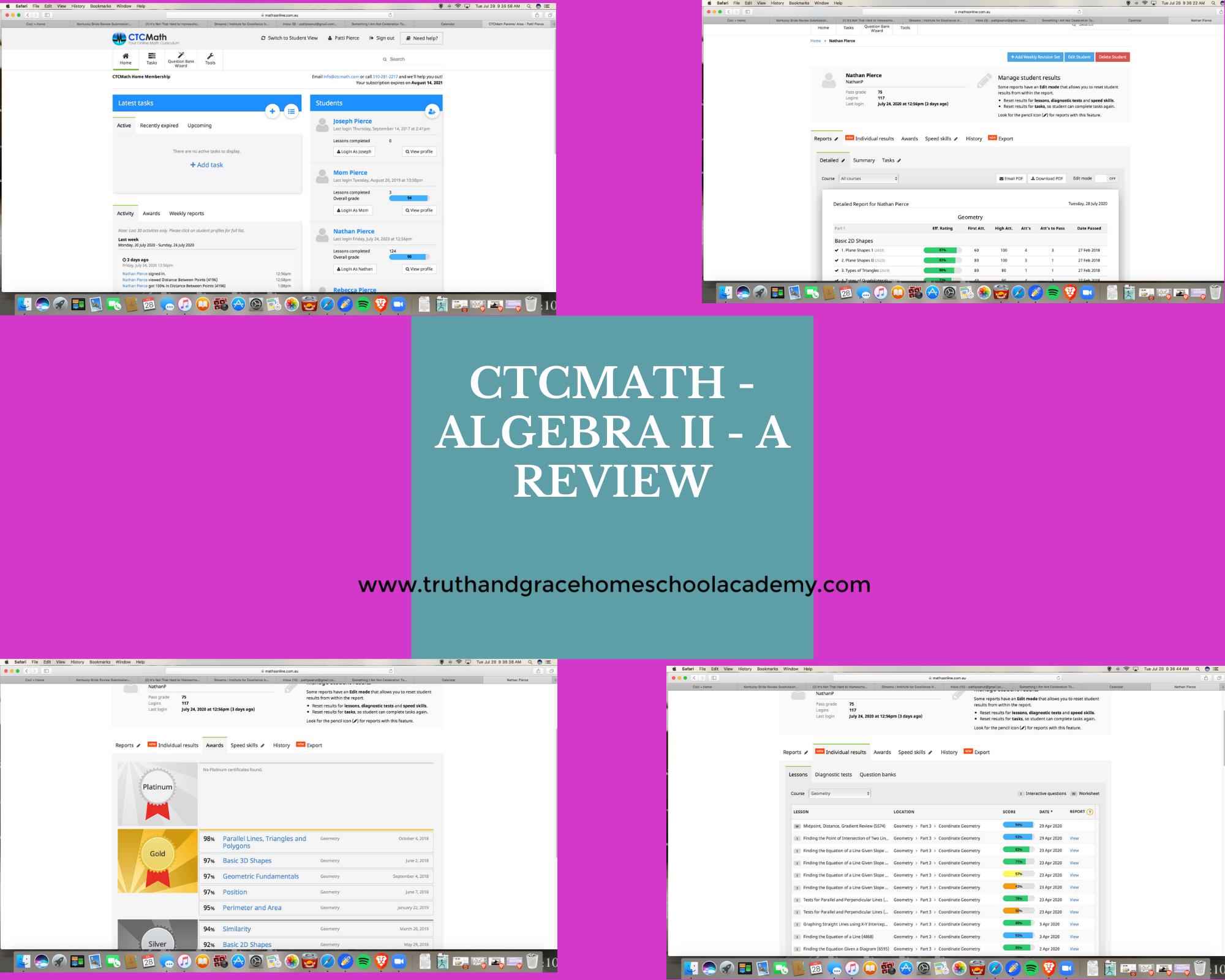 CTC Math - Algebra II