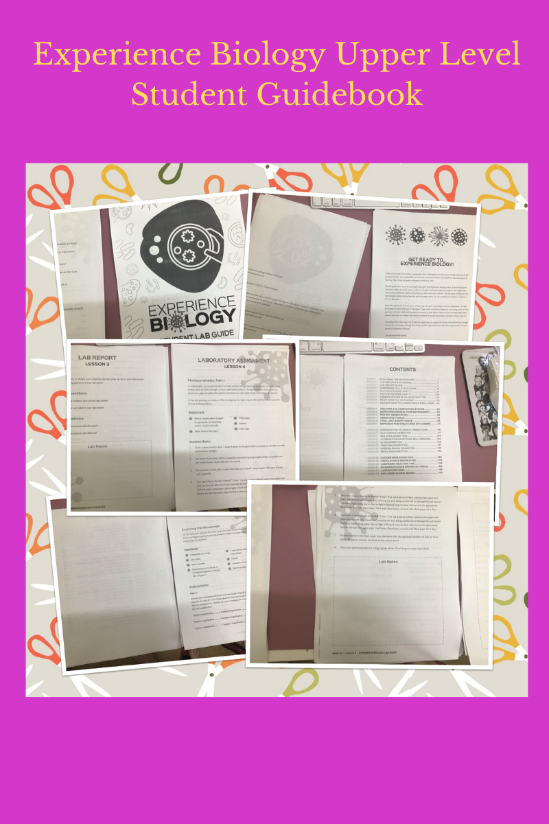 Experience Biology Upper Level Student Guidebook
