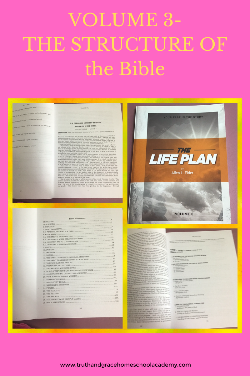 VOLUME 3 - THE STRUCTURE OF the Bible