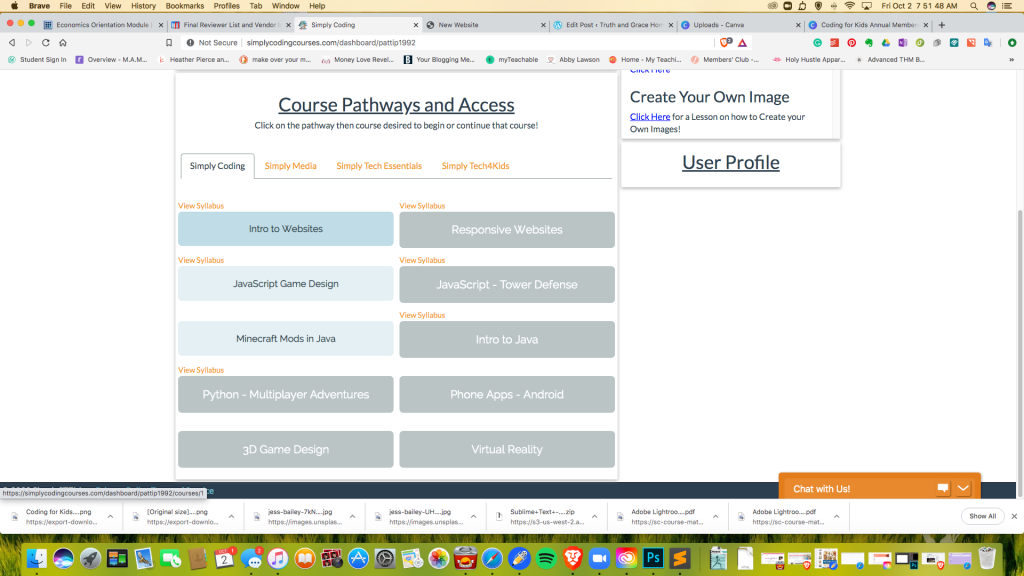 This image has an empty alt attribute; its file name is course-pathways-screenshot.png